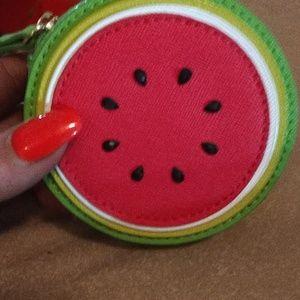 Kate Spade .. Watermelon coin purse  new